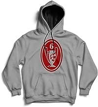Dibbs Clothing Liverpool Six Time Champions League Winners Liverpool Football Club Madrid LFC Street Hoody MP3 - Sudadera con Capucha