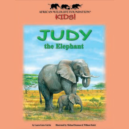 Judy the Elephant audiobook cover art