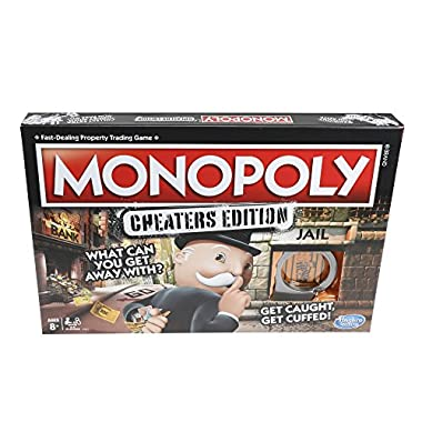 Hasbro Gaming Monopoly Cheaters Edition Family Game