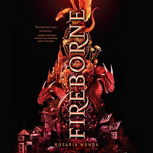 『Fireborne』のカバーアート
