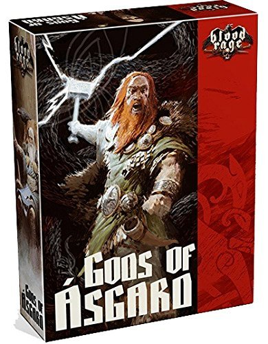 'Aster Litio, 8731, Parte Blood Rage: Gods of Asgard, Italianos Edition (podría no Estar en español)