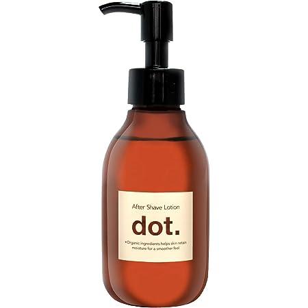 dot メンズ オールインワンローション アフターシェーブ 化粧水/保湿/ハリ ヒゲ剃り、脱毛、除毛後のケアに
