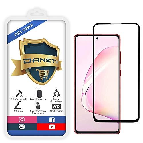 """Película De Vidro Temperado 3D Full Cover Para Samsung Galaxy S10 Lite com Tela de 6.7"""" Polegadas - Proteção Blindada Top Premium Que Cobre Toda A Tela - Danet"""