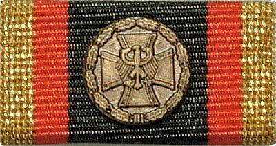 Weitere... Bandschnalle BW Ehrenmedaille