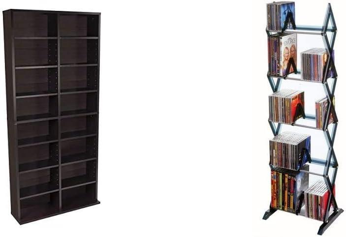 Atlantic Oskar Adjustable Media All stores are sold Cabinet Mitsu in National uniform free shipping 5-Ti Espresso