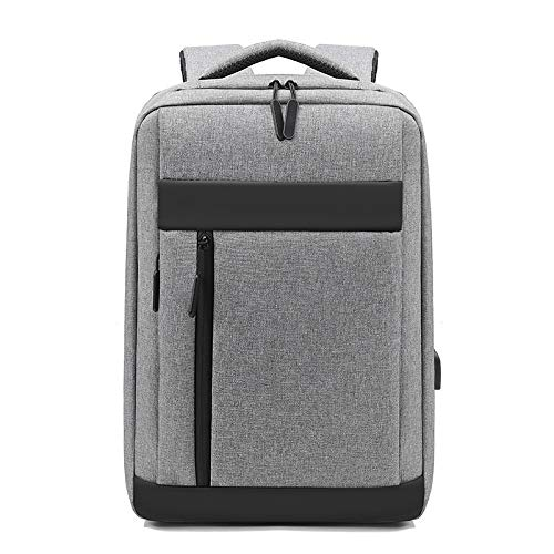 Zaino per laptop 15,6 pollici viaggio d'affari borsa del computer Zaino per notebook da lavoro (Color : GRAY, Size : 15.6inch)