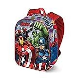 Karactermania The Avengers Force-3D Backpack (Small) Kinder-Rucksack, 31 cm, 8.5 liters, Mehrfarbig...