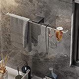 YSZW Estante Multifuncional, Estantería De Toalla De Baño De Joyería De Una Sola Capa, Espejo Moderno. 0918Y(Size:40cm,Color:Espejo)