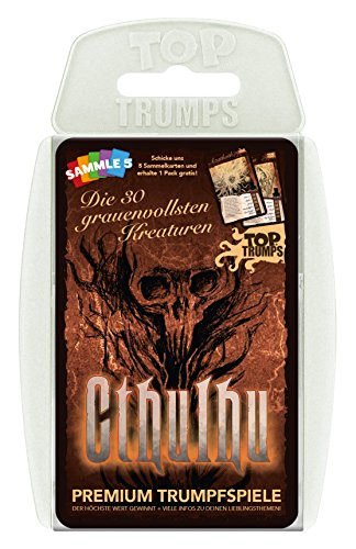 Winning Moves Top Trumps - Cthulhu