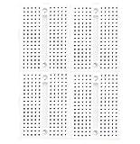 LampVPath (Pack of 4) 170 tie-Points Breadboard, Mini Breadboard, Small Bread Board for Arduino- White Color