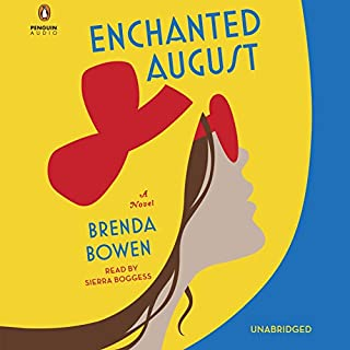 Enchanted August audiobook cover art