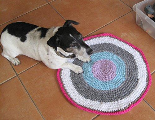 Häkelanleitung Hundedecke, 48 cm Durchmesser: Ideal für Anfänger