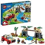 LEGO 60301 City Wildlife Rescate de la Fauna Salvaje: Todoterreno, Vehículo de Juguete para Niños y Niñas a Partir de 4 Años