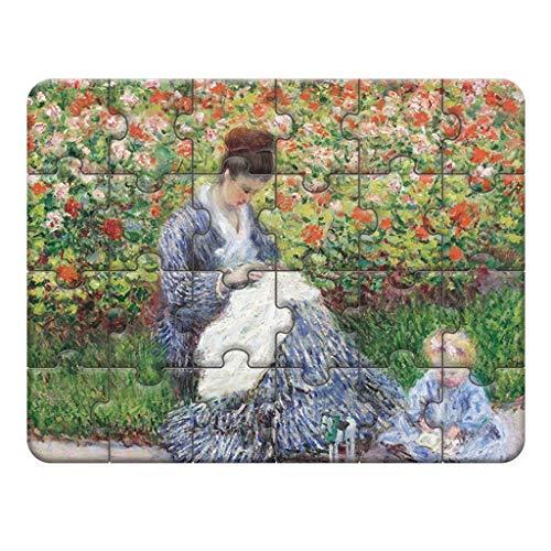 Puzzles Spielzeug Landschaftsmalerei Charakter Malerei Kunst for Kinder Educational Junge Und Mädchen, frühe Bildung Spielzeug 3-4-5-6 Jahre alt Brainteaser (Color : A)