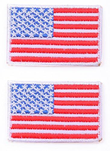 Toppa termoadesiva Toppa patch toppa USA 2 pezzi 5 x 3,5 cm a pezzo