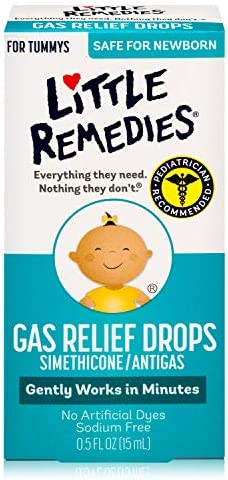 Little Remedies Gas Relief Drops for Tummy's,...