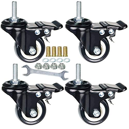 Best 1 25 inches stem casters list 2020 - Top Pick