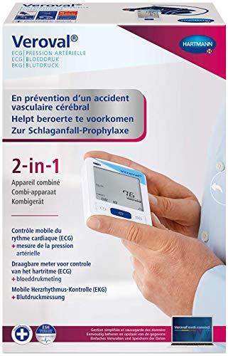 VEROVAL 2 en 1 Tensiómetro Brazo / Función ECG