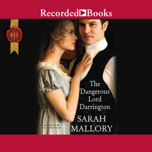 The Dangerous Lord Darrington audiobook cover art
