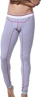 HaiDean Fashion Winter Mens Leggings Casual Modern Soft Long Pants Comfortable Warm Underwear Thermal Trousers Sport Fitne...
