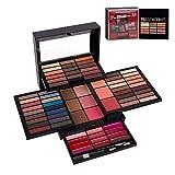 Completo Paleta de Maquillaje 72 Colores Juego de Maquillaje - Sombras de Ojos Set Caja de Maquillaje de Regalo con Corrector Rubor Sombra de Ojos Cosmético Estuche Maquillaje Set para mujeres