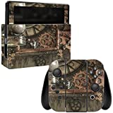 steam resistant adhesive - MightySkins Skin Compatible with Nintendo Switch - Steam Punk Room | Protective, Durable, and Unique Vinyl Decal wrap Cover | Easy to Apply, Remove, and Change Styles | Made in The USA