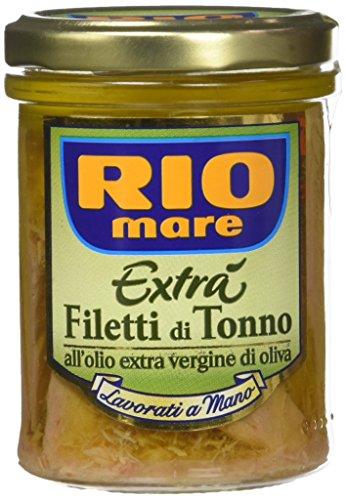 Rio Mare Filetti di Tonno all Olio Extravergine di Oliva, 180g