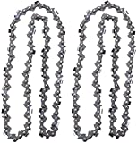 Kuupo 2PK S55 AdvanceCut 16-Inch Chainsaw Chain 90PX055G 3/8' Pitch 050 Gauge 55 Drive Links for Sthil MS170 MS180 McCulloch Sears Craftsman Electric Chainsaw