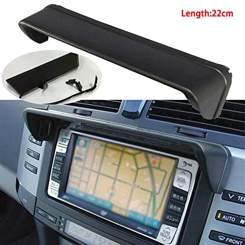 Adjustable Visor Extension Piece Universal Car Navigation Sun Shade Visor for 5.5-Inch to 10-Inch Portable GPS and Other GPS Betteros GPS Navigator Anti Reflective Sun Shade