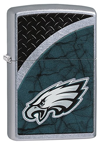 Zippo NFL Philadelphia Eagles Street Chrome Pocket Lighter