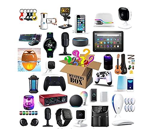 nakw88 Caja misteriosa Caja de misterio Caja de misterio Electronics Mystery Boxes Cumpleaños aleatorio Caja de sorpresa Interesante y emocionante Caja de Lucky,como Drones Smart Watches Gamepads y má