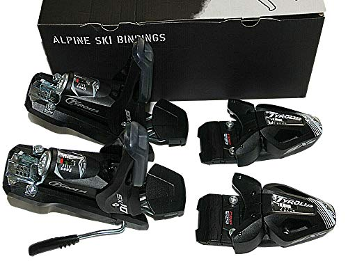 ski bindings SX10 GW Tyrolia bindings Pair 90mm Brakes Adult Color Black gripwalk 2020 New
