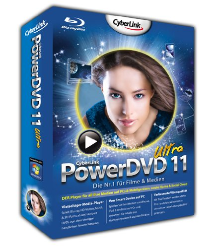 PowerDVD 11 Ultra 3D – Special Edition mit 3D Brille, Lovefilm-Voucher und Android App