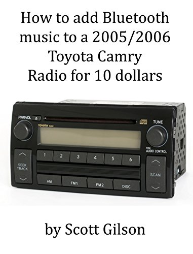 How to add Bluetooth music to a 2005/2006 Toyota Radio for 10 dollars (English Edition)