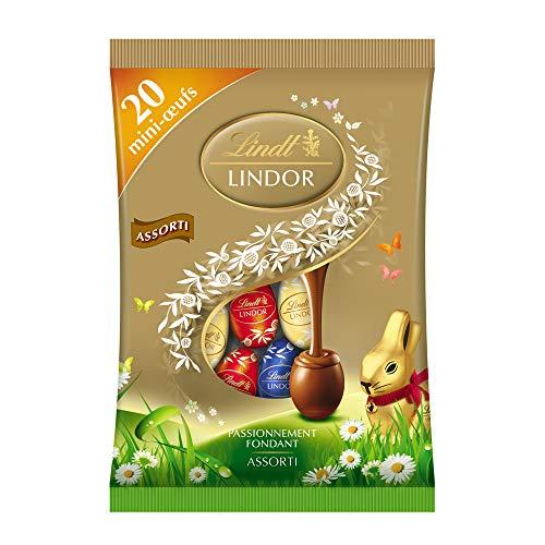 リンツ (Lindt) チョコレート リンドールエッグ 3種アソート [イースター 季節限定] 3種類 約20個入り 100g