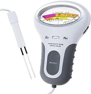 Anself 2 in 1 PH Chlorine Meter Tester PC-102 PH Tester Chlorine Water Quality Testing Device CL2 Measuring For Pool Aquarium
