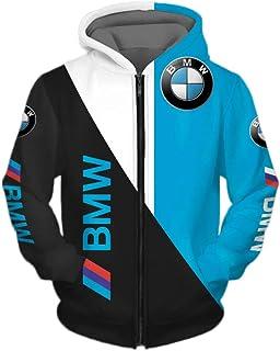 Homme PUMA BMW Motorsport Sweat à capuche veste gris ou bleu taille XL Medium M