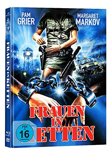 Frauen in Ketten - Black Mama, White Mama - Mediabook - Cover C - 2-Disc Limited Collector's Edition auf 222 Stück  (+ DVD) [Blu-ray]