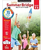 Summer Bridge Activities Workbook—Grades 5-6 Reading, Writing, Math, Science, Social Studies, Fitness Summer Learning Activity Book With Flash Cards (160 pgs)