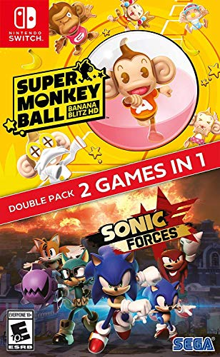 Sonic Forces + Super Monkey Ball: Banana Blitz for Nintendo Switch [USA]