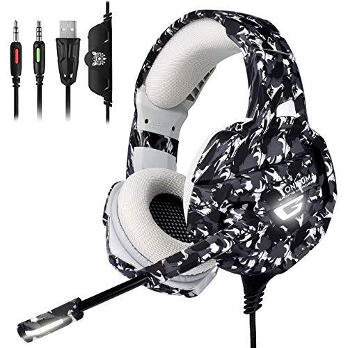Auriculares ONIKUMA Pro Gaming con sonido envolvente 7.1