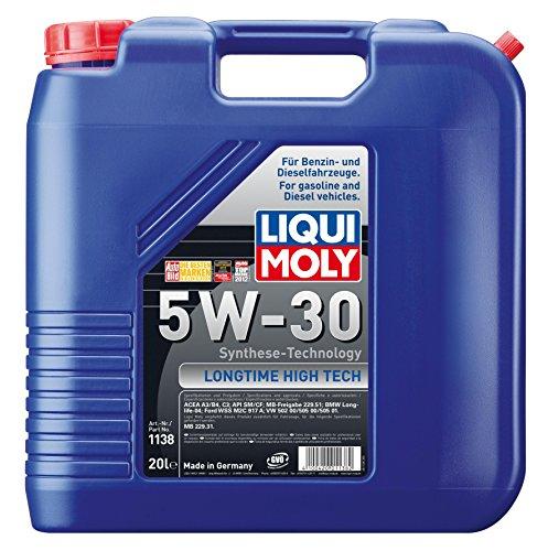 Liqui Moly 1138 20L Motoröl Longtime High Tech 5W-30