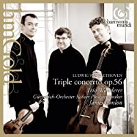 Beethoven: Triple Concerto by Trio Wanderer (2013-05-03)
