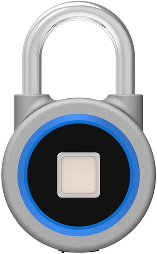 SPNEC Fingerprint Padlock Max 56% OFF excellence Smart Touch Waterproof Lock Anti Metal