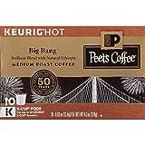 Peet's Coffee K-Cup Packs Big Bang Medium Roast Coffee 10 Count (Pack of 4)