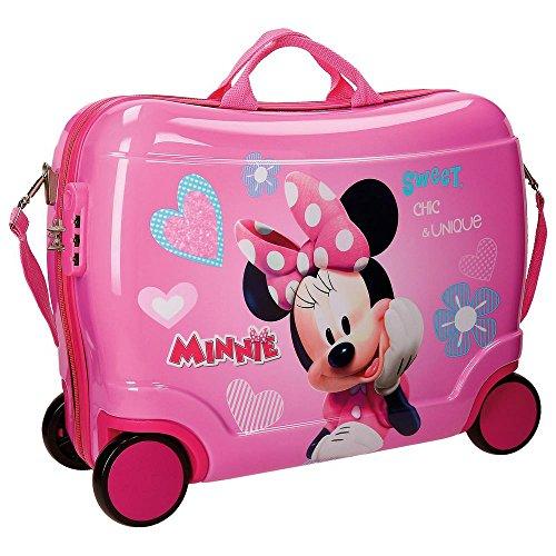 Disney Minnie Fabulous - Equipaje Infantil - 34 Litros (Rosa)