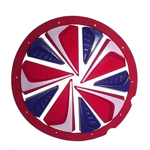 Exalt Paintball Zubehör Dye Rotor Fast Feed, Rot/Weiß/Blau, 63315