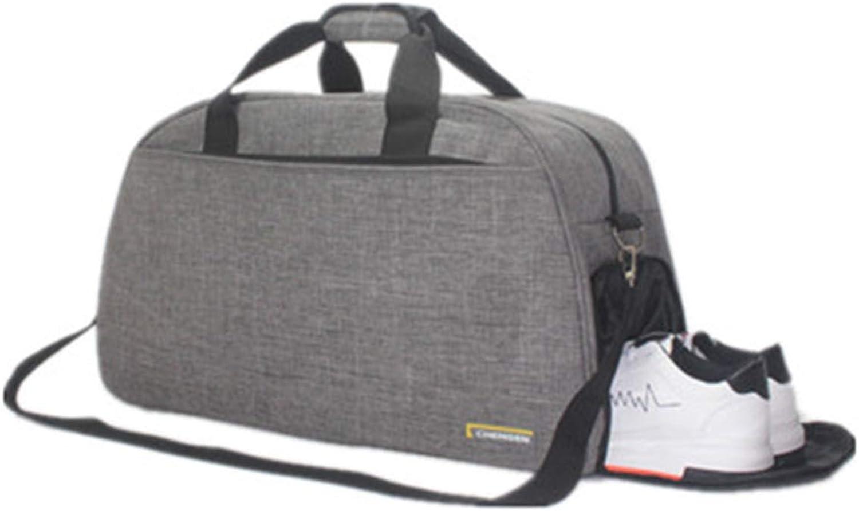 Haoyushangmao Sports Bag, Large-Capacity Sports Bag, Outdoor Travel Bag, Large-Capacity Unisex Travel Bag, Casual Men's and Women's Shoulder Bag, Handbag, Gym Bag, Messenger Bag, Yoga Bag