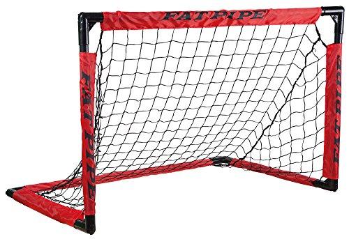 Fat Pipe   Faltbares Floorball Unihockey Kunststoff Tor Easy Goal, 90 x 60 cm genormtes Maß für Schulwettbewerbe, Breitensport und CVJM Hockey