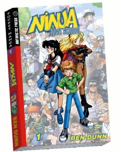 Ninja High School Pocket Manga #1 (Ninja High School (Graphic Novels)) by Dunn, Ben (2004) Paperback